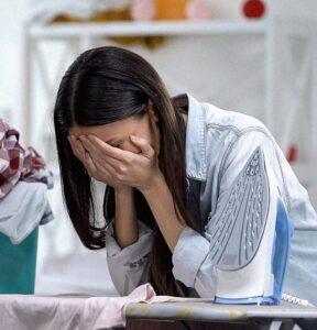 NC Human Trafficking Labor Sad Woman