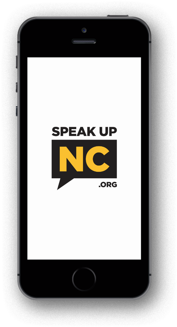 Speak Up NC Mobile Phone
